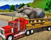 Симулятор грузовика, перевозящего животных 2020