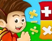Детская математика - сложение, вычитание, счет, изучение