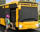 За рулем школьного автобуса