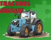 Тракторы - Пазл