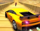 Автотрюки - Вождение в небе