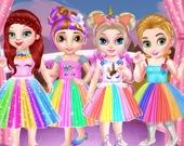 Вечеринка единорога для маленьких принцесс