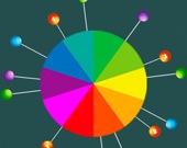Цветные булавки