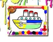 Лодки: Книжка-раскраска