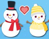 Снежки любви на Рождество