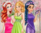 Цвета весеннего платья принцессы