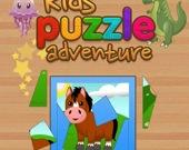 Детская головоломка-приключение