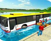 Гонки на плавающем автобусе 3D