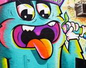 Пазлы: Граффити