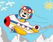Игра на память: Дружелюбные самолёты