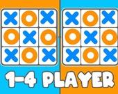 Крестик-нолик - 1-4 игрока