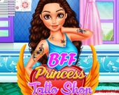 Закадычные друзья: Магазин татуировок принцессы