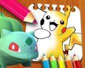 Покемон: раскраска для детей