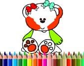 Раскраска: Милые мишки