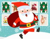 Найди пару рождественских карточек