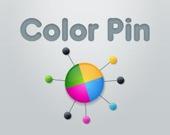 Разноцветные булавки