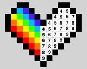 Пронумерованные пиксели