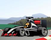 Супер гоночные автомобили: Раскраска