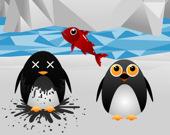 Голодный пингвин
