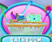 Уборка и декорация ванной