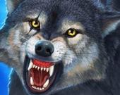 Охотник на дикого волка
