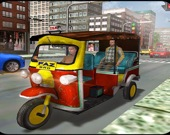 Такси для туристов: симулятор тук-тука