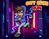 Стремительный бег в городе
