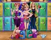 Принцесса возвращается в школу