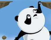 Панда в кувырке