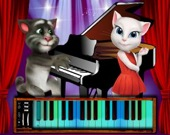 Говорящий Том: Время для пианино