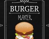 Приготовь бургер