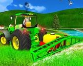 Настоящий фермерский трактор