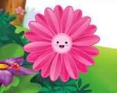 Пазл: Забавные цветы