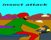 Атака насекомых