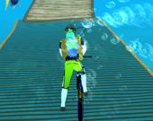 Велосипед под водой