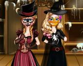Хэллоуин-Приготовления Сестер