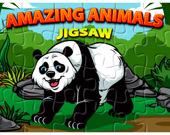 Пазл: Удивительные животные