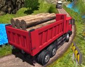 Индийский грузовик на высокогорье