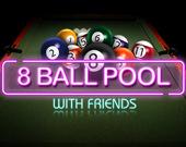 Пул 8 шаров с друзьями