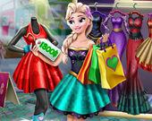 Реальная жизнь Ледяной Королевы: Поход по магазинам