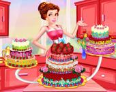 Принцесса Диди: Украшение сладкого пирога