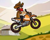 Гонки по холмам на мотоцикле