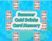 Летние холодные напитки: карты памяти