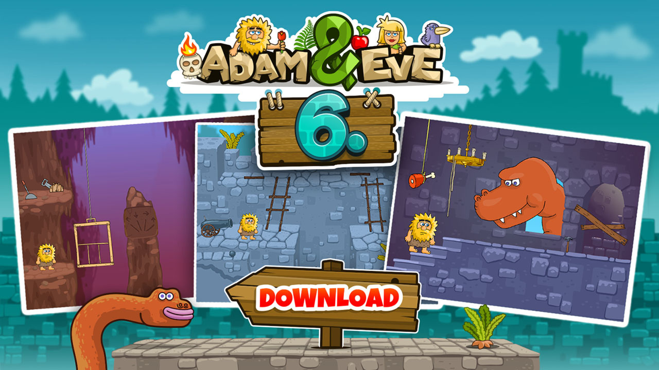Адам и Ева 6 - играть онлайн бесплатно на Zarium.com