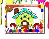 Раскраска: Дом