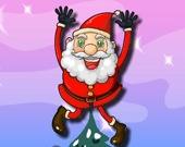 Прыжки Санта Клауса