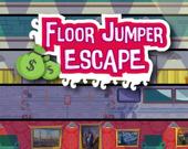 Бегство прыгуна по этажам