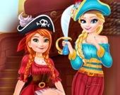 Сокровище в гардеробе для девушек-пираток