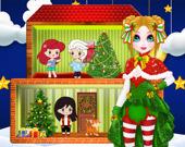 Рождественский Кукольный Дом Принцессы