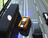 Гонщик на автомагистрали